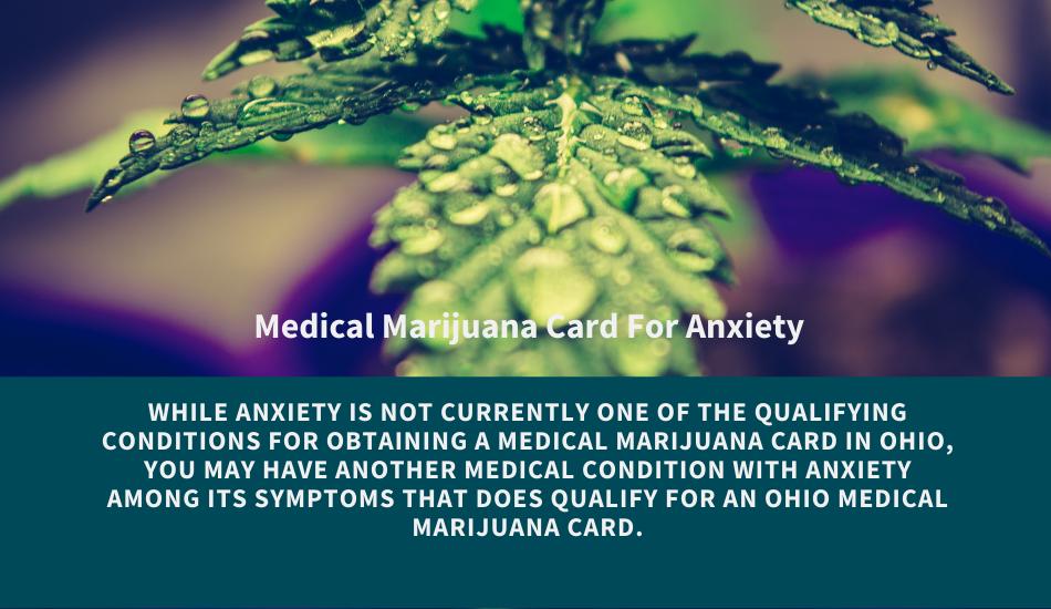 ohio medical marijuana card for anxiety