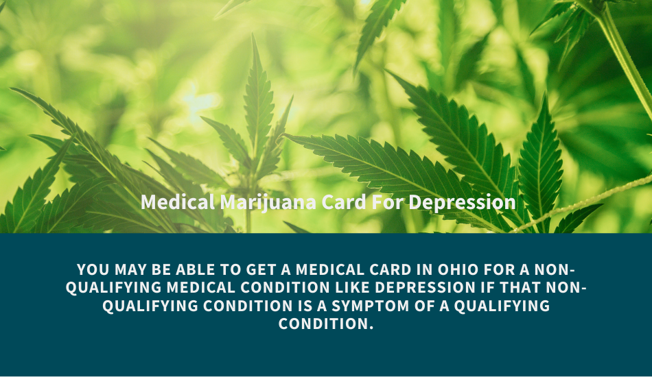 can you get a medical card for depression in ohio